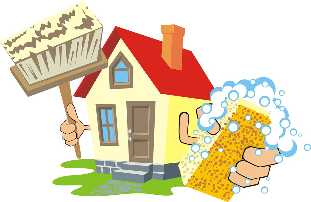 clean the house clipart - photo #6